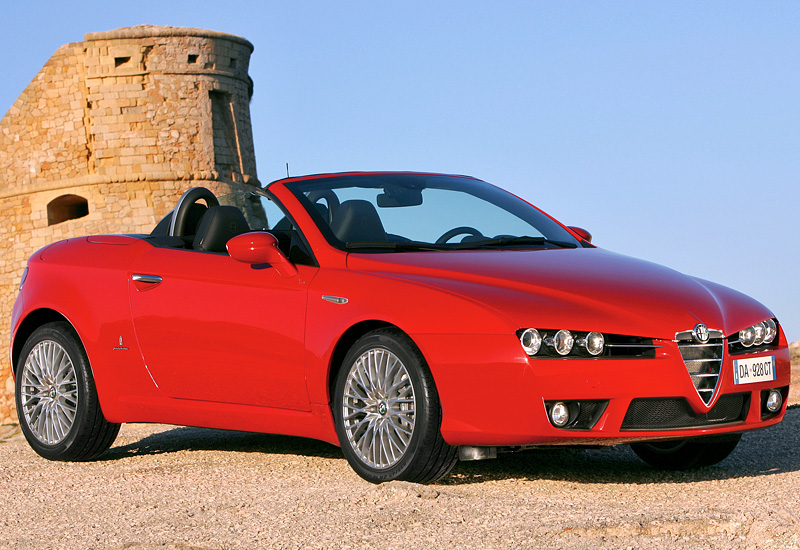 2006 Alfa Romeo Spider top car design rating and specifications